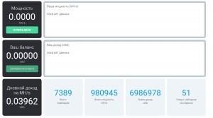 Онлайн кабинет IQ Mining